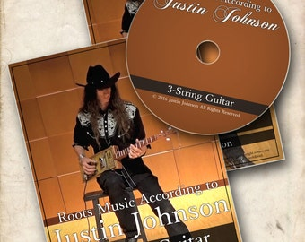 DVD: 3-String Guitar (Second Edition)