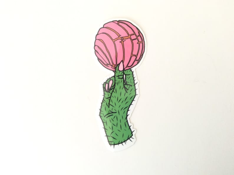 Pink Concha Sticker Conchas Are Life Decal Pan Dulce Etsy