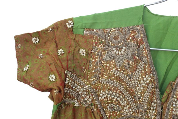 Vintage Banjara Dress Hand Embroidered Tribal Gyp… - image 3