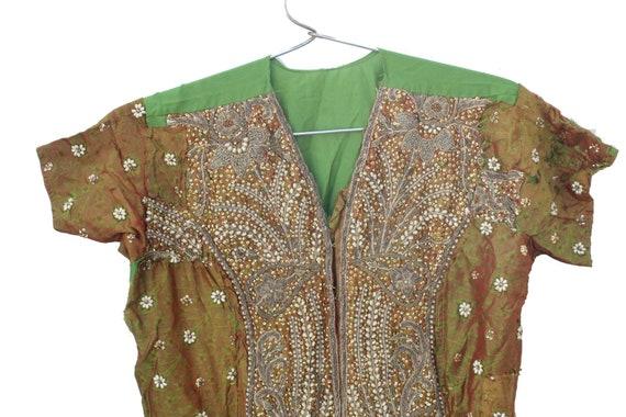 Vintage Banjara Dress Hand Embroidered Tribal Gyp… - image 2
