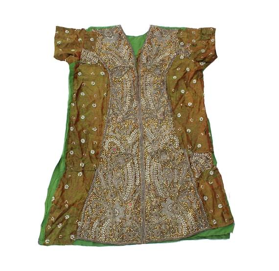 Vintage Banjara Dress Hand Embroidered Tribal Gyp… - image 7
