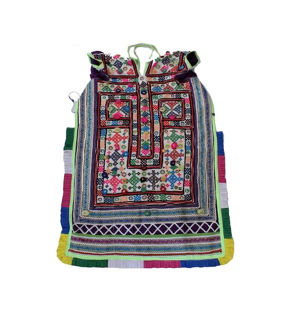 Handmade Banjara Colourful Mirror Embroidered Yoke