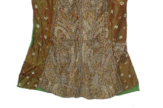 Vintage Banjara Dress Hand Embroidered Tribal Gyp… - image 4