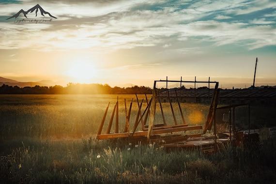 Country Farm Digital Download Desktop Background