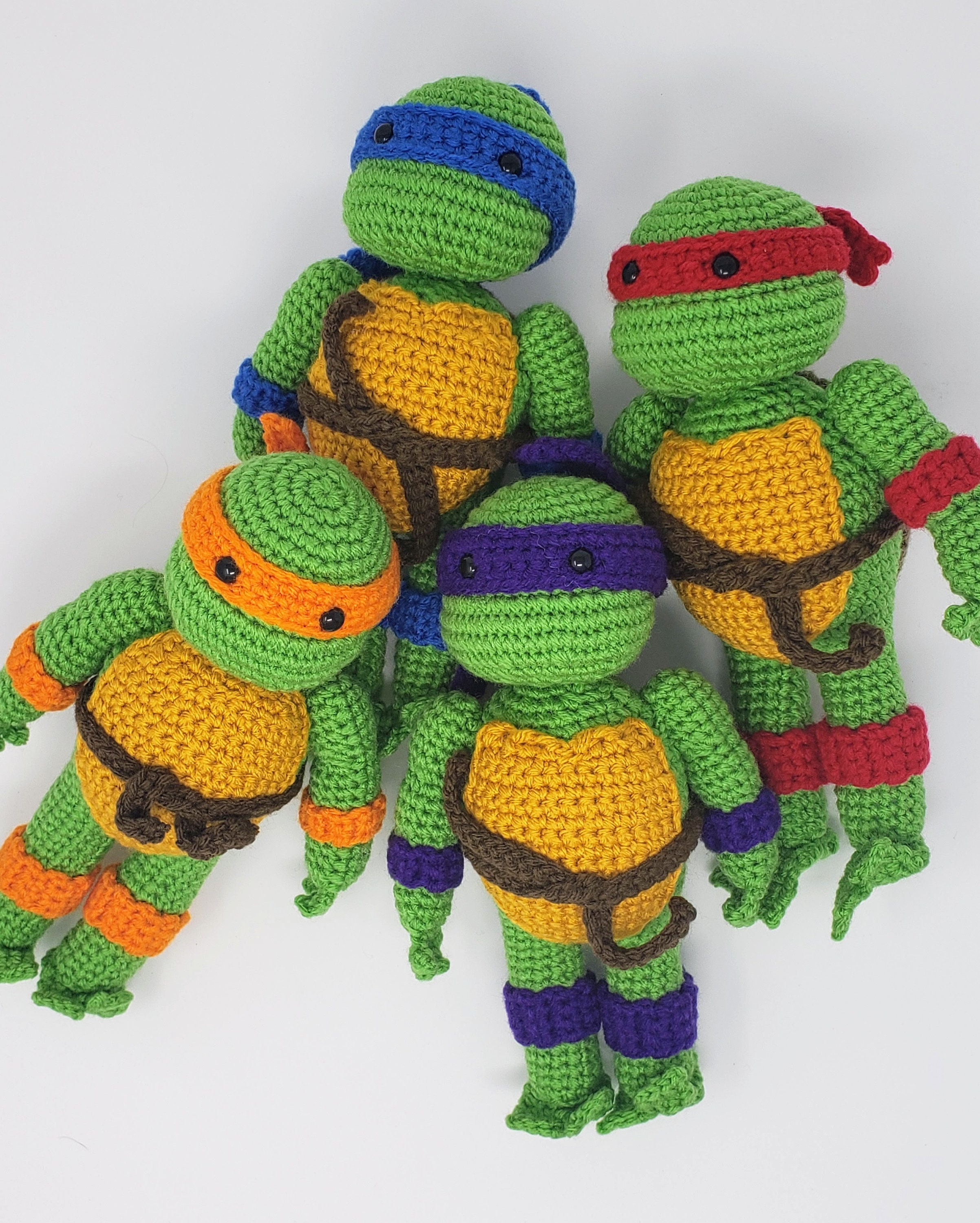 Teenage Mutant Ninja Turtle Crochet Pattern | Make | :3000x2404