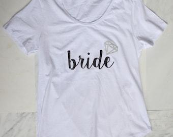SALE**** Bling Bridal T-Shirt***