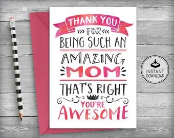 Mom Birthday Card Mother
