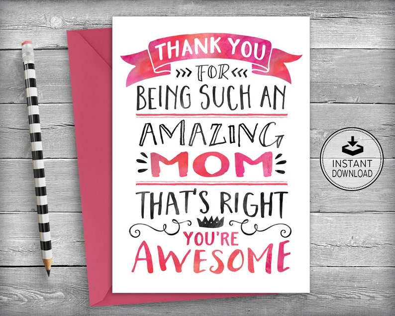 Mothers Day Card MOM Birthday Cards For Mom