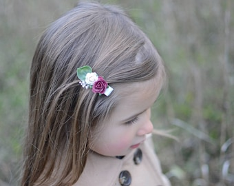 flower hair clip, baby hair clip, hair clip, baby clips, clips, baby hair accessories, girls hair clips, girls hair accessories, hair bows
