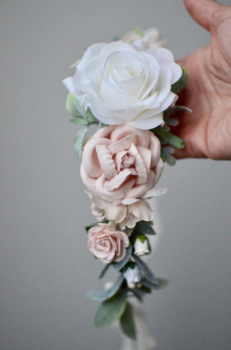 flower crown maternity crown Blush flower crown boho wedding floral crown,baby flower crown,bridal crown floral halo flower girl crown