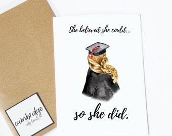 College Grad Card Etsy
