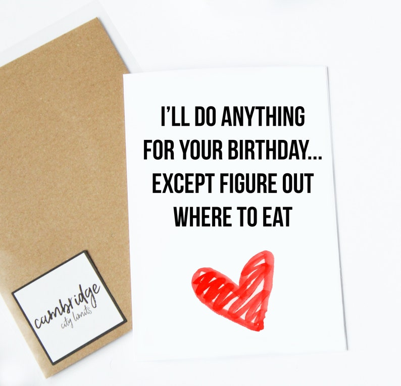 Funny Birthday Card Relationship Greeting For Etsy Jpg 794x764 Cards