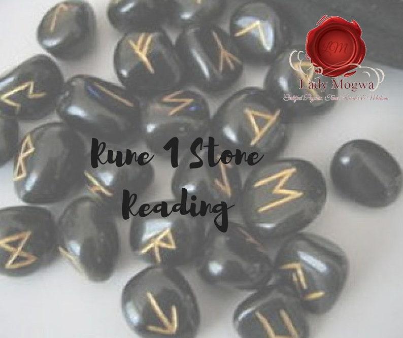 1 Rune Stone Reading
