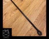 Fire Poker - Hand Made Black - Hand Forged UK, Blacksmith, Fire place Tools, Log Burner, Fire Pits, Chiminea handmade Tool Steel