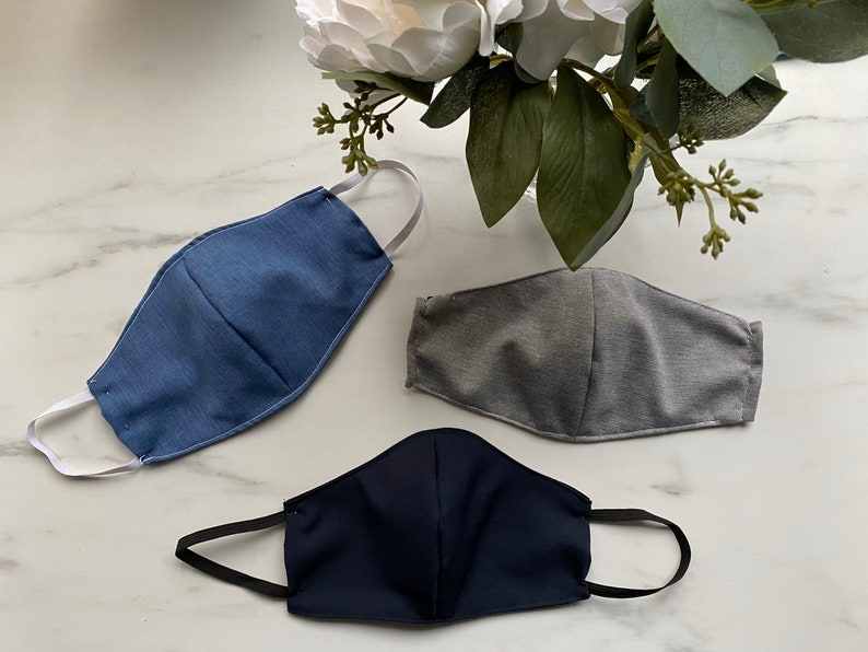 Reusable Fabric Face Masks/Face Covers with a Removable Filter for Adults, Kids and Babies via TeriChooseDesigns