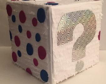 Gender Reveal Box Pinata