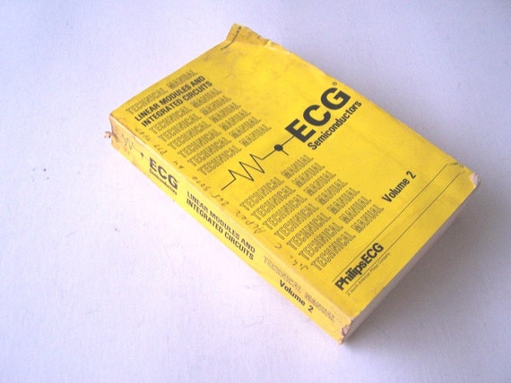 ECG Linear Modules and Integrated Circuits Technical Manual, Volume 2,  Audio Output Amplifier, CMOS Frequency Divider, Computer Chip Manual