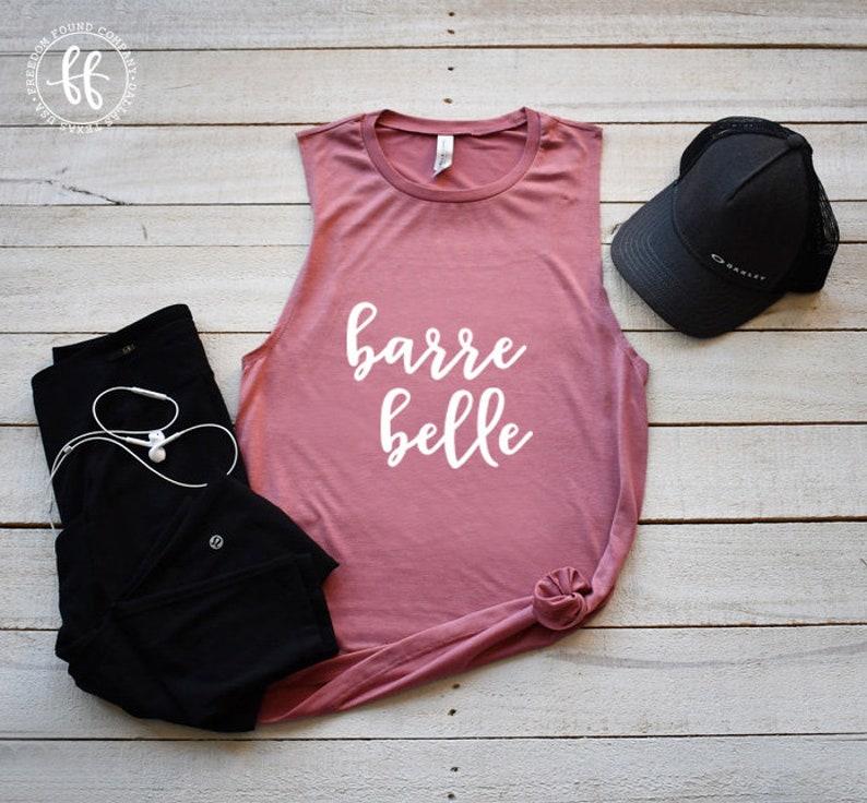 Barre Belle Shirt Workout Shirt Barre ShirtBarreCute Barre ShirtWorkout TankPure BarreCute WorkoutFitnessFreedomFoundCo