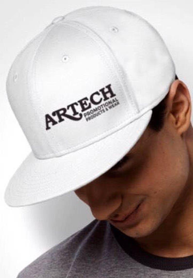 91a6d121adb8d Custom Flat Bill Hats Snap Backs Hats Custom Embroidery Logo