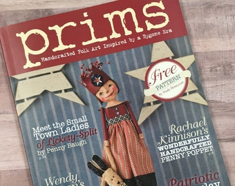 Prims Magazine Etsy