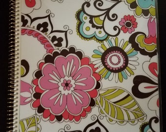 """8.5""""x11' 5 Subject Project Notebook"""