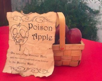 Snow White Poison Apple Centerpiece / Snow White Party Centerpiece