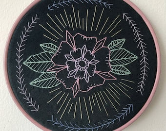 Flower Power Embroidery