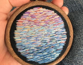 Abstract Hand Embroidery