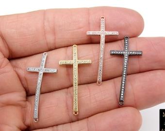 Connector Cross link Cross pendant Link Jewellery making Cross Pendant Jewellery pendant Connector link Filigree Cross connector
