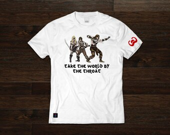 PD Tee: War-Painted Trio