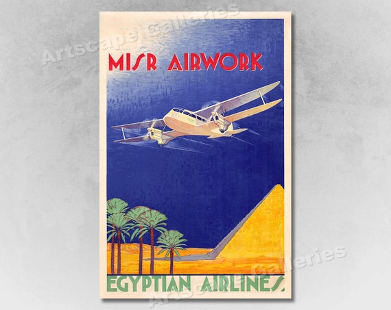 1930s Visit Johannesburg South Africa Vintage Style Travel Poster 24x36