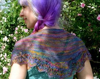 Small wool shawl
