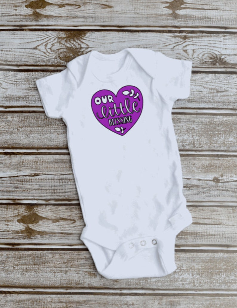 Our Little Blessing Gerber Baby Bodysuit