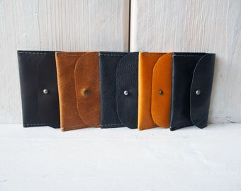 Leather business cardholder wallet, Leather card holder wallet, Cardwallet, Leather Cardholder, Business cards, Leather Wallet