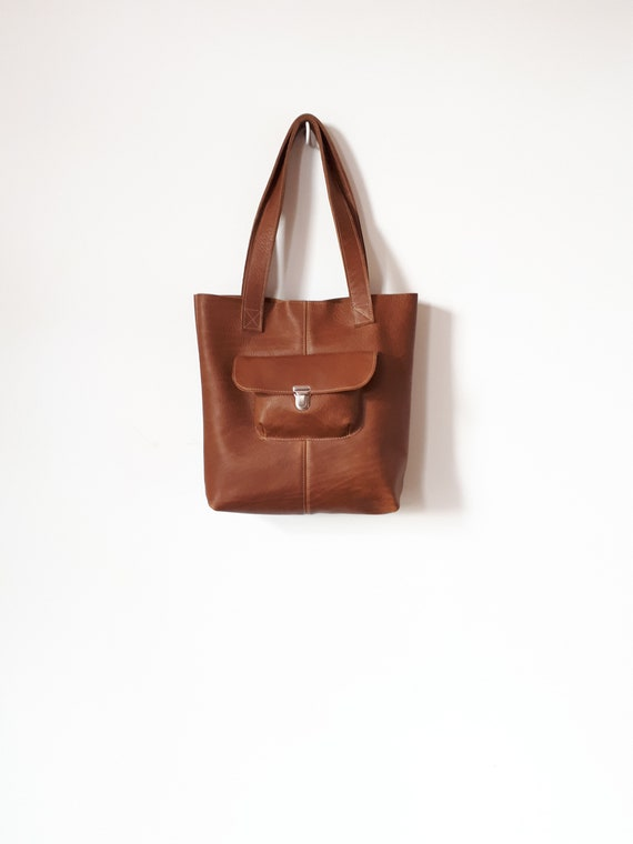 8c82251c7f33 Leather bags Large shopper bag Leather Shopper Bag Shopper