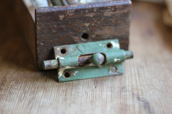 Add Charm To Your Country Door Or Furniture Vintage Sliding Etsy