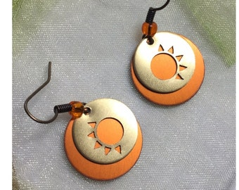 Sun Silhouette earrings