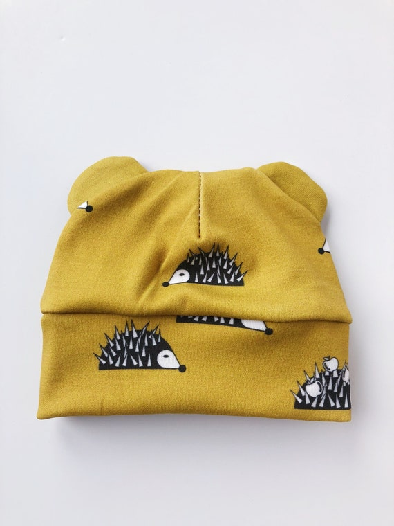 3c7046424 Hedgehogs- ORGANIC cotton baby hat Baby girl hat baby boy hat beanie cub  hat toddler hat cotton hat newborn hat unisex baby hat