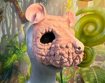 Hairless Rat/ Mole rat - Latex Mask - Ready to Ship