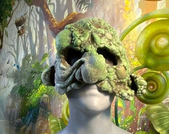 Hobgoblin/ plague boils/ troll - Latex Mask - Ready to Ship