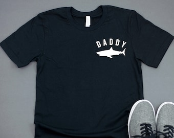 dd019f34 Daddy Shark | Dad Shark Shirt | Graphic Tee | Shirts for Dads | Dad Graphic  Tee | Father's Day Gift | Daddy Shark