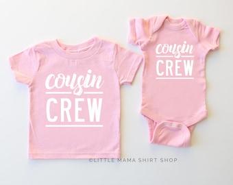 265e4703b Cousin Shirts | Cousin Crew | Cousin Shirts for Kids | Cousin Bodysuit |  Adult Cousin Shirts | Cousins | Graphic Tees