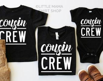 fbc59a08c Cousin Shirts   Cousin Crew   Cousin Shirts for Kids   Cousin Bodysuit    Adult Cousin Shirts   Cousins   Graphic Tees