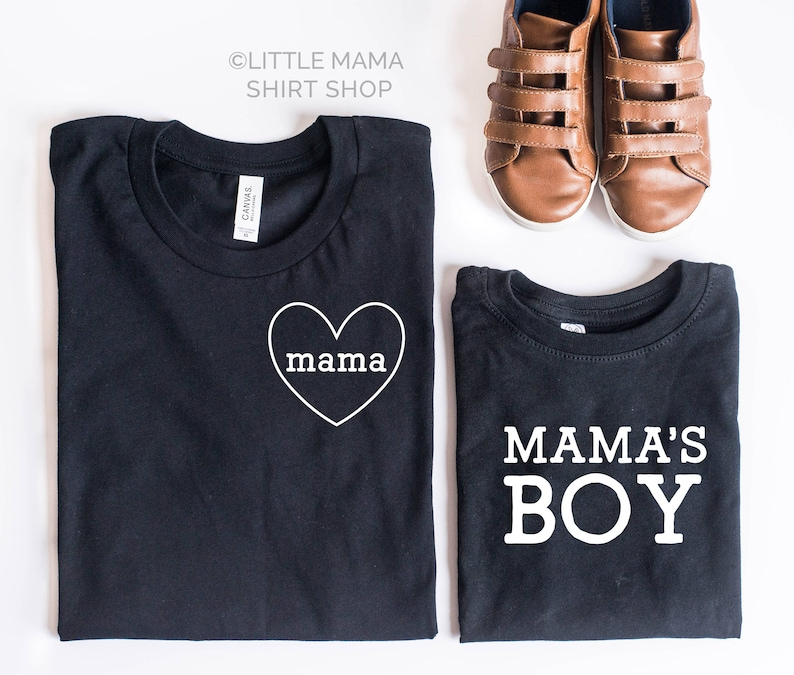 48e9fe086 Mommy and Me Shirts Set of 2 Mom and Son Matching Shirts