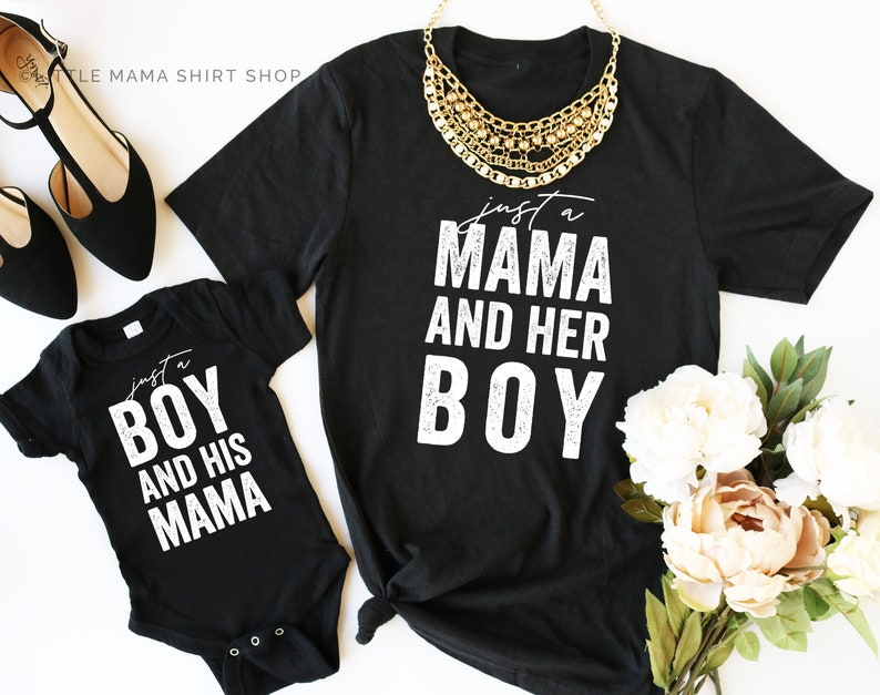 ee986101b16a Just a Mama and Her Boy © THE ORIGINAL Mommy and Me Outfits | Etsy
