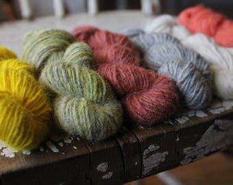 Seafolk -  Naturally Dyed Mini Skein Sets