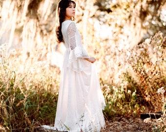 Elven Wedding Dress Etsy