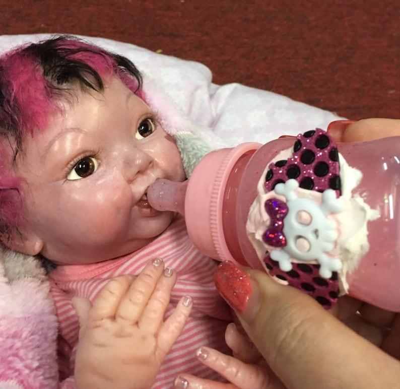 Pink Vampire Baby Bottle