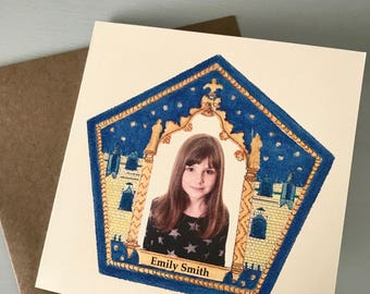 Chocolate frog cards | Etsy