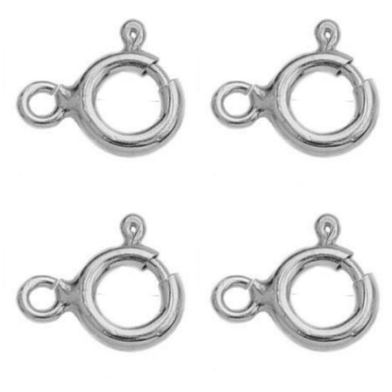 Sterling Silver 13mm trigger clasp lobster clasp silver jewellery fastener 925